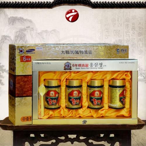 Cao hồng sâm hanil Hàn Quốc 4 lọ 250gr