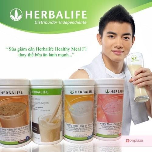 Sữa giảm cân Herbalife Healthy Meal giảm cân F1