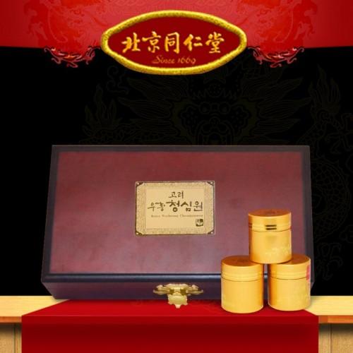 Ngưu hoàng thanh tâm Hàn Quốc hộp gỗ (10 viên/ hộp) A034