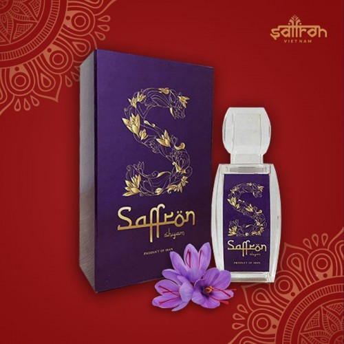 Nhụy hoa nghệ tây IRAN đặc biệt Saffron SHYAM hộp 3g NT005