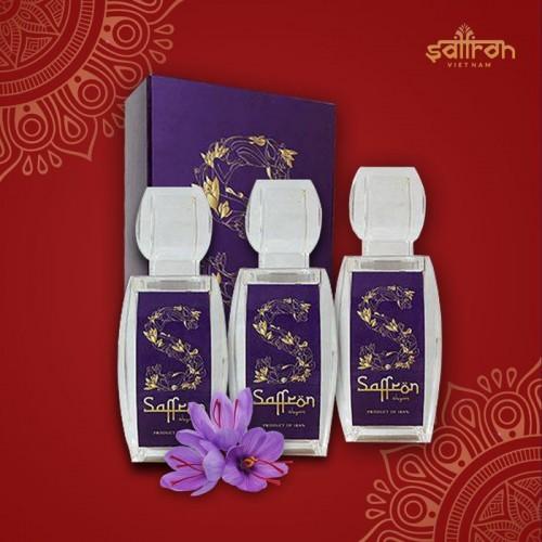 Nhụy hoa nghệ tây IRAN đặc biệt Saffron SHYAM hộp 9g NT007