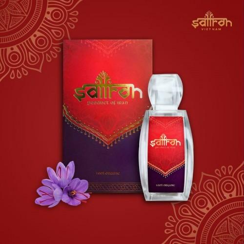 Nhụy hoa nghệ tây IRAN cao cấp Saffron SALAM hộp 1g NT011