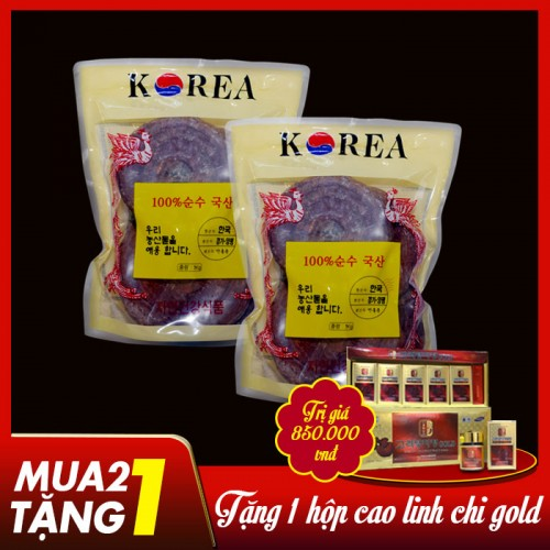 Nấm linh chi Đỏ (Túi 3-6 tai/Kg) L002