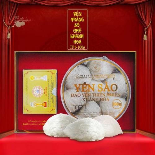 Yến nguyên tổ Khánh Hòa hộp 100g TP1 Y001