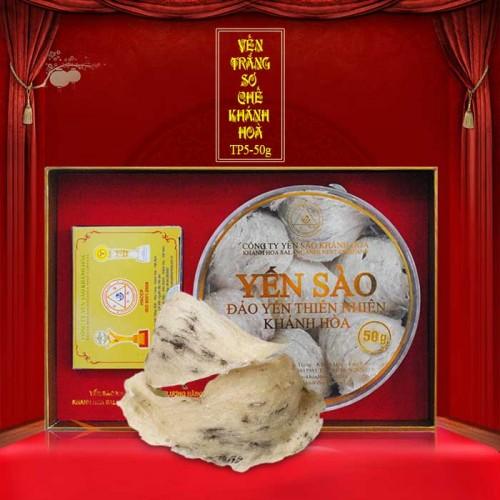 Yến nguyên tổ Khánh Hòa hộp 50g TP5 (055) Y008