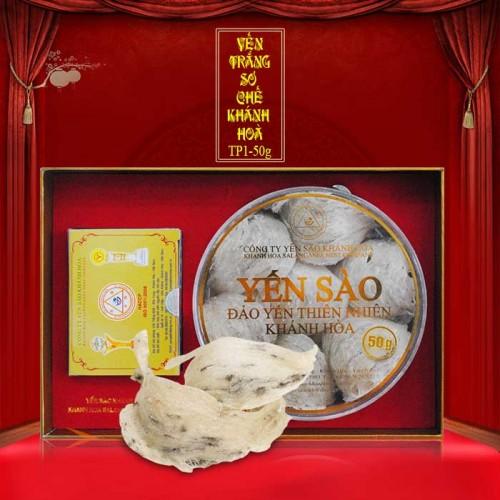 Yến nguyên tổ Khánh Hòa hộp 50g TP1 (051) Y012