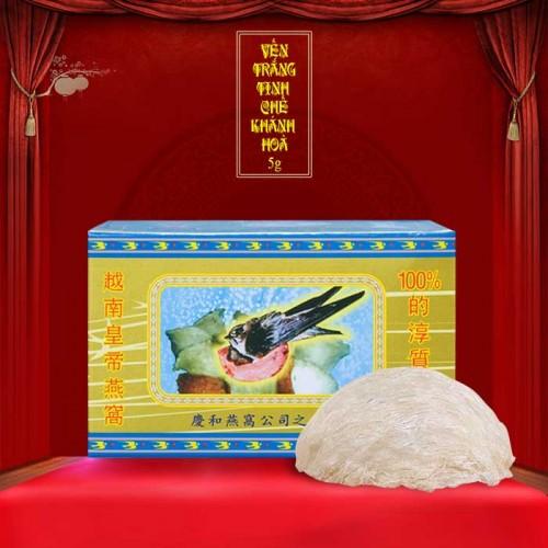 Yến trắng tinh chế Khánh Hòa hộp 5g (H012) Y015