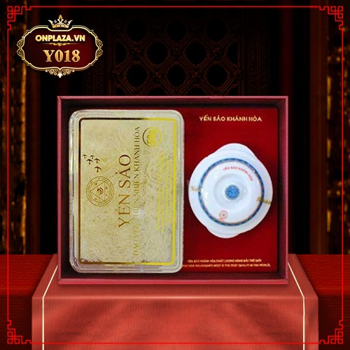 Yến trắng tinh chế Khánh Hòa hộp quà tặng 50g (H015G) Y018