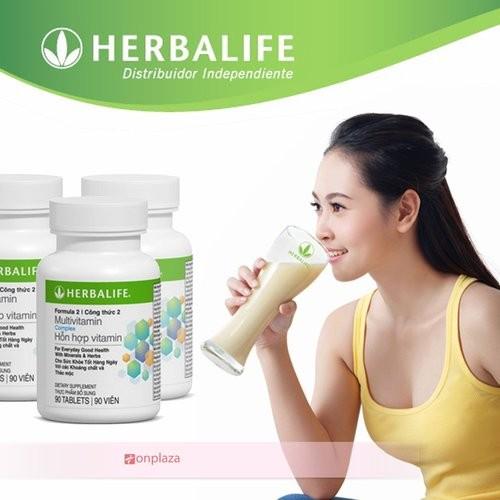 Thực phẩm dinh dưỡng Multivitamin Herbalife F2 giá rẻ