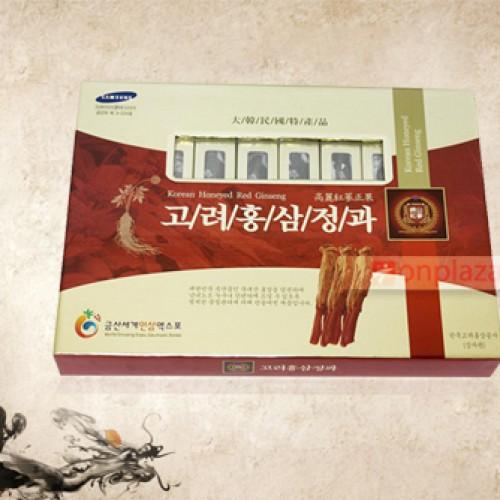 Hồng sâm tẩm mật ong 8 củ Hàn Quốc