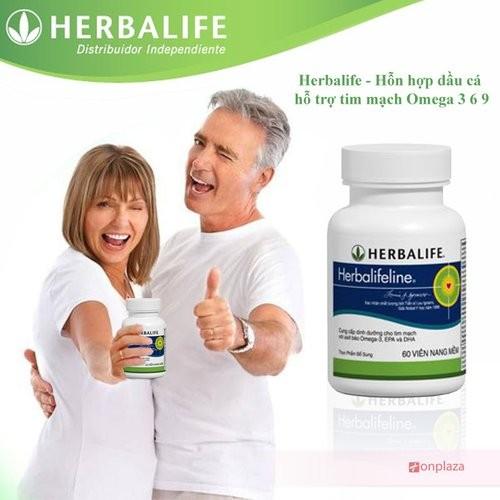 Herbalifeline - Hỗn hợp dầu cá Omega 3,6,9 hỗ trợ tim mạch H010