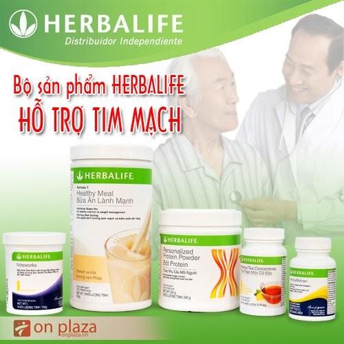 Bộ 5 sản phẩm Herbalife hỗ trợ bệnh tim mạch H022