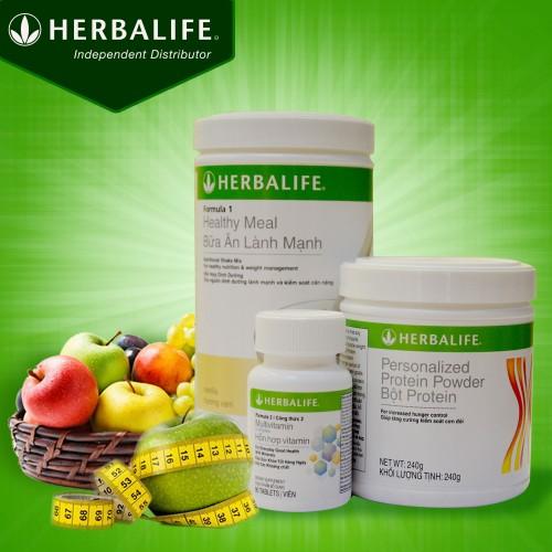 Bộ ba thực phẩm chức năng Herbalife cơ bản(F1+F2+PP)