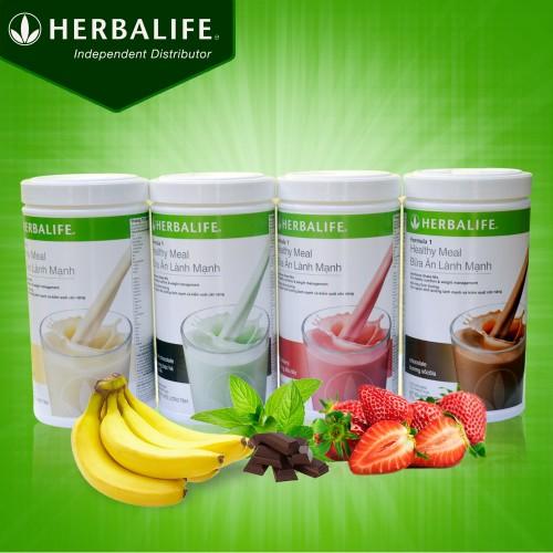 Sữa giảm cân Herbalife Healthy Meal F1