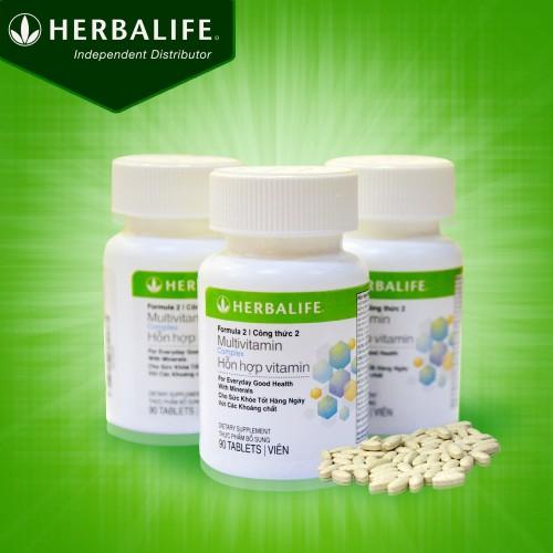 Hổn hợp dinh dưỡng Multivitamin Herbalife F2