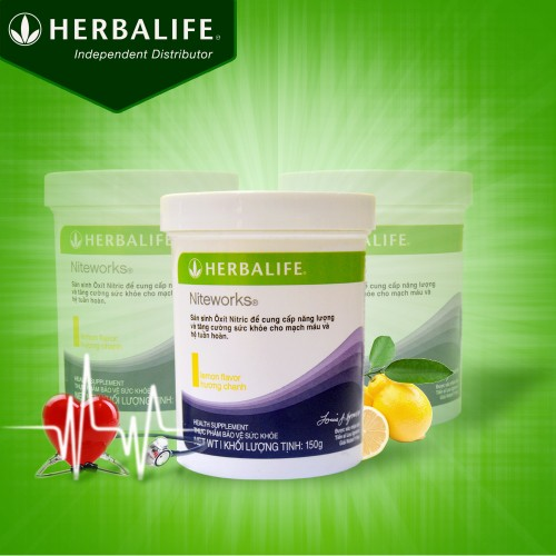 Niteworks Herbalife - thực phẩm dinh dưỡng cho trái tim khỏe mạnh