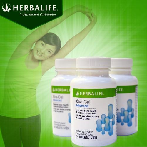 Thực phẩm hỗ trợ xương khớp-Canxi Herbalife Xtra Cal