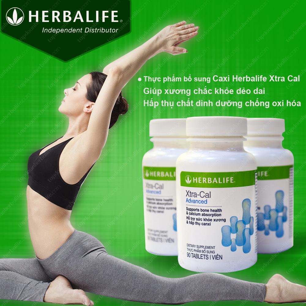 Thực phẩm hỗ trợ xương khớp-Canxi Herbalife Xtra Cal H006 1