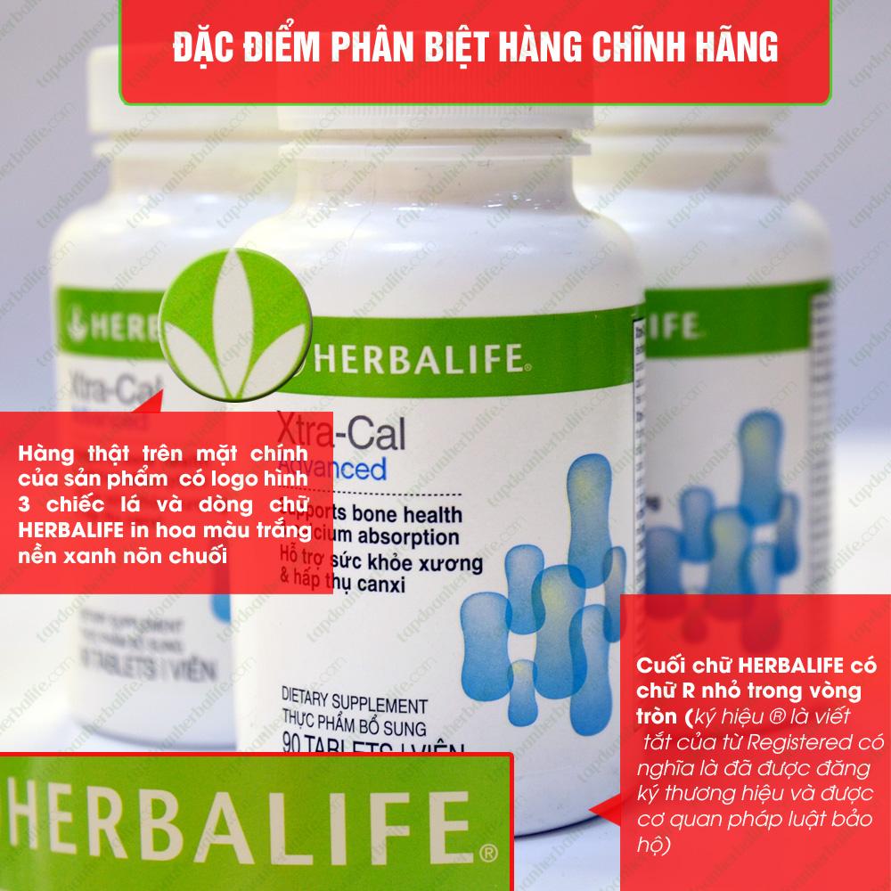 Thực phẩm hỗ trợ xương khớp-Canxi Herbalife Xtra Cal H006 2