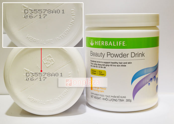 Collagen thủy phân Herbalife beauty powder drink H024 2