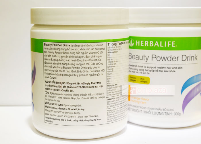 Collagen thủy phân Herbalife beauty powder drink H024 4