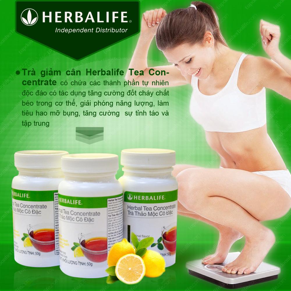 Trà thảo mộc cô đặc giảm cân Herbalife Tea Concentrate 1