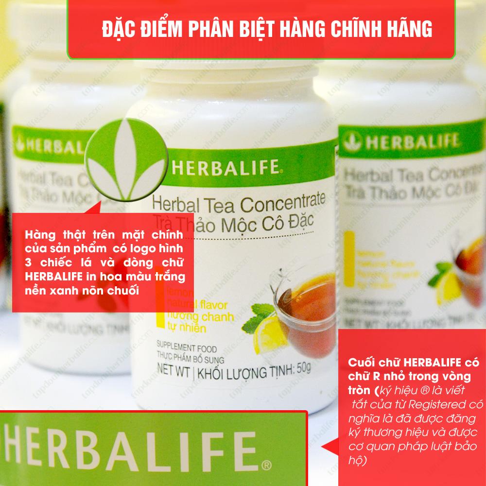 Trà thảo mộc cô đặc giảm cân Herbalife Tea Concentrate 2