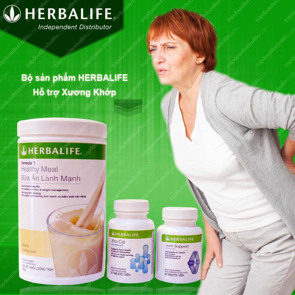 Bộ sản phẩm hỗ trợ xương khớp Herbalife 1