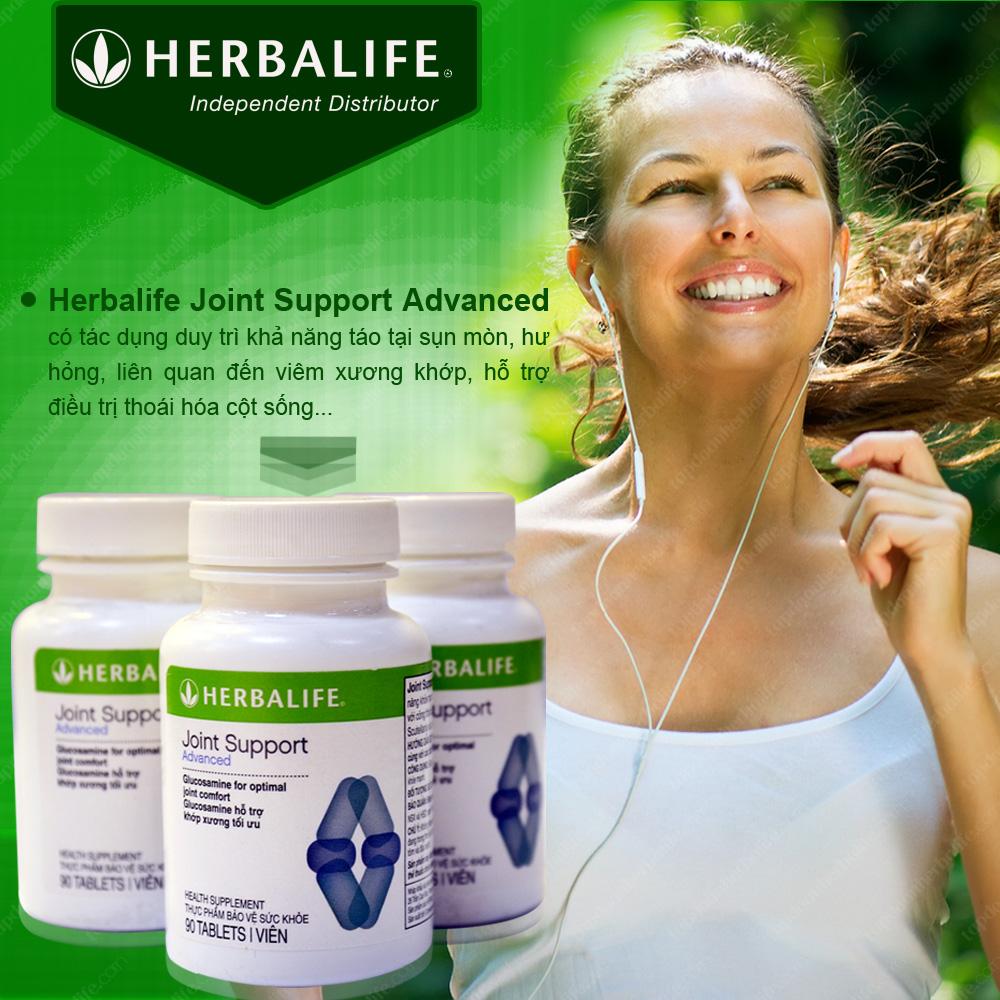 Bộ sản phẩm hỗ trợ xương khớp Herbalife 4