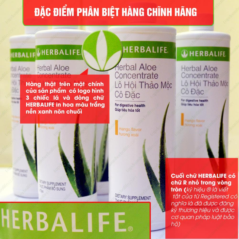 Lô hội thảo mộc cô đặc Herbalife Aloe Concentrate  2