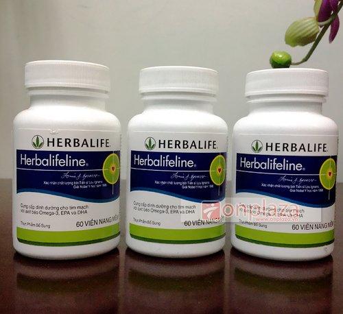 Herbalifeline - Hỗn hợp dầu cá Omega 3,6,9 hỗ trợ tim mạch H010 1