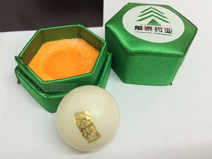 An cung ngưu Rùa Vàng (hộp 3 Viên) A022