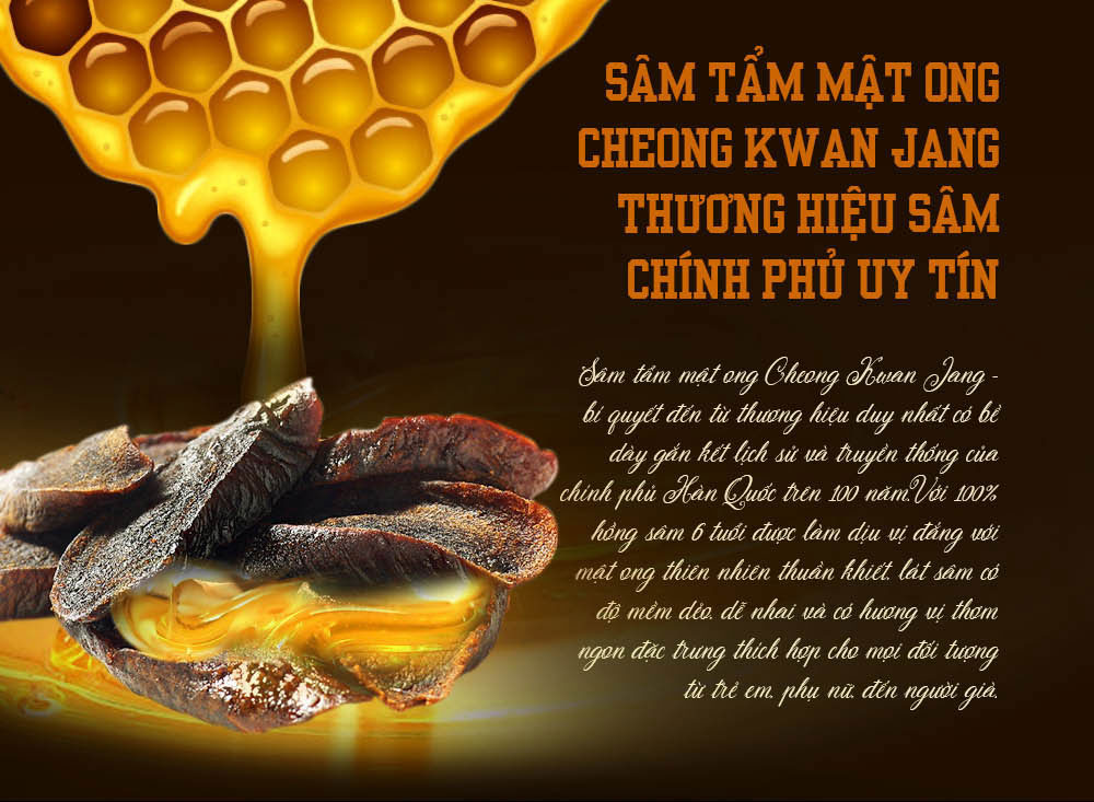 hồng sâm chính phủ tẩm mật ong KGC