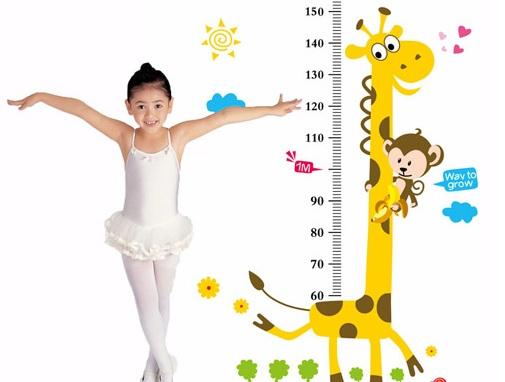 Biểu đồ tăng trưởng của trẻ em Việt Nam từ 0-5 tuổi 2