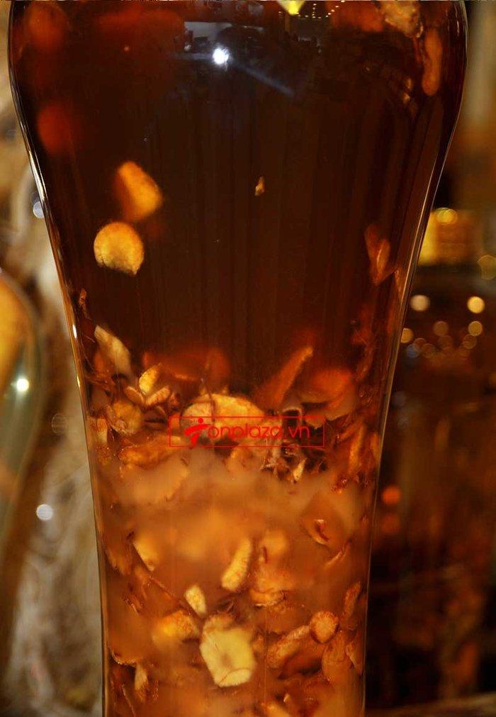 Bình ngâm sâm Ngọc Linh thái lát tẩm mật ong 6 lít loại 700gr sâm NS640 2