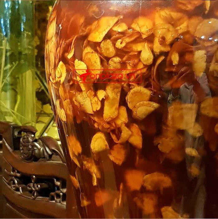 Bình ngâm sâm Ngọc Linh thái lát tẩm mật ong 7 lít  NS639 3