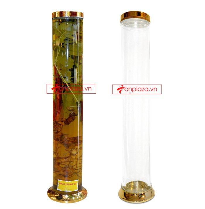 Bình sâm Ngọc Linh 15l dáng trụ dài cao cấp  NS400 3