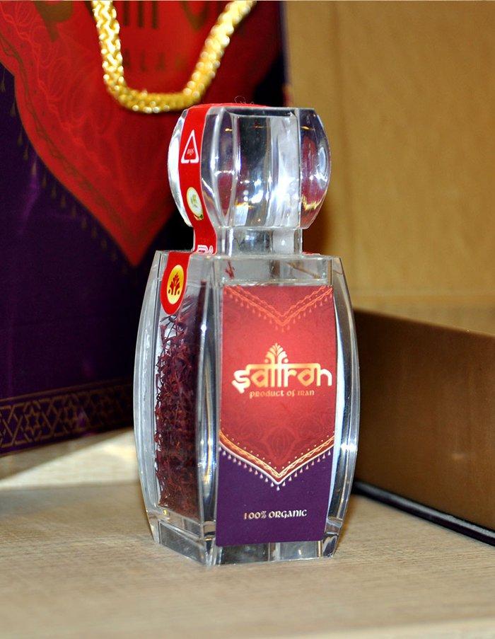 Bộ sản phẩm Nhụy hoa nghệ tây saffron SALAM  trà hoa cúc hộp 10g NT003 4
