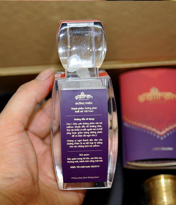 Bộ sản phẩm Nhụy hoa nghệ tây saffron SALAM  trà hoa cúc hộp 10g NT003 11
