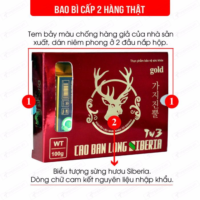 Cao Ban Long Sibiri (gói 100g) NH010 1