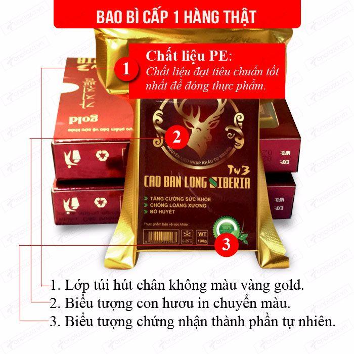 Cao Ban Long Sibiri (gói 100g) NH010 5