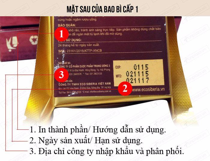 Cao Ban Long Sibiri (gói 100g) NH010 6