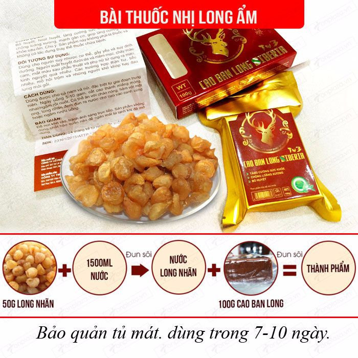 Cao Ban Long Sibiri (gói 100g) NH010 8