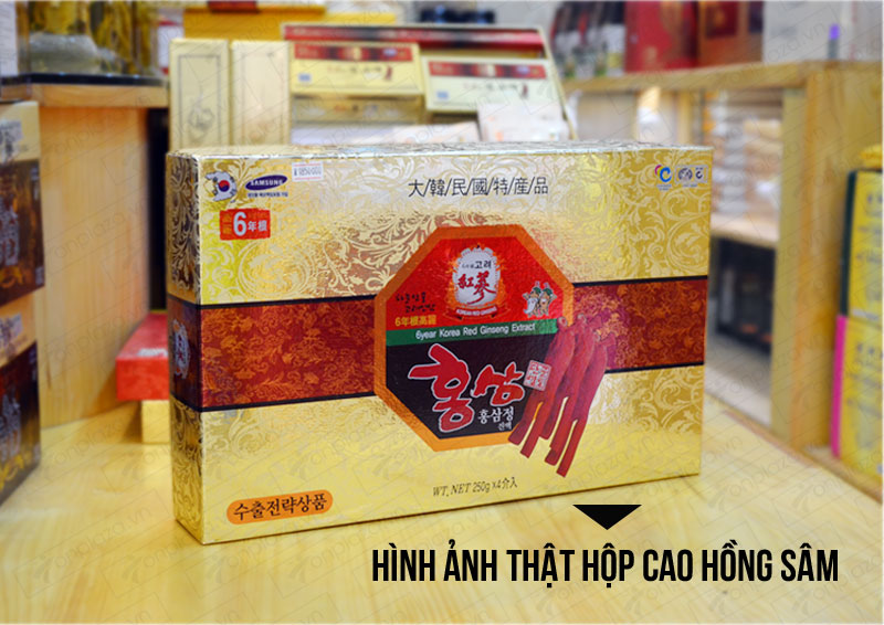 Cao hồng sâm hanil Hàn Quốc 4 lọ 250gr NS033 2