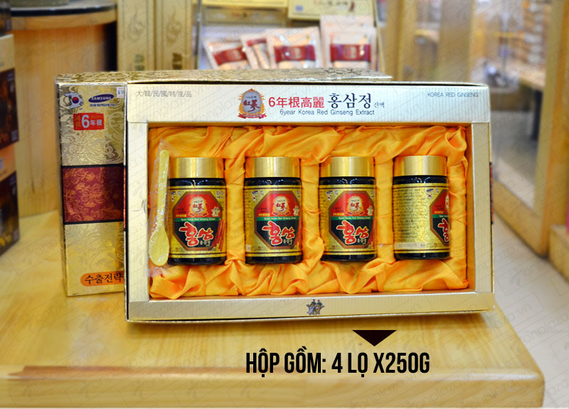 Cao hồng sâm hanil Hàn Quốc 4 lọ 250gr NS033 3