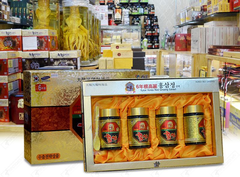 Cao hồng sâm hanil Hàn Quốc 4 lọ 250gr NS033 10