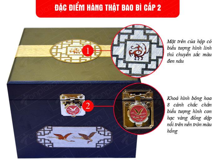 Cao Hoàng Đế 500g/hộp màu xanh ngọc NS037 1