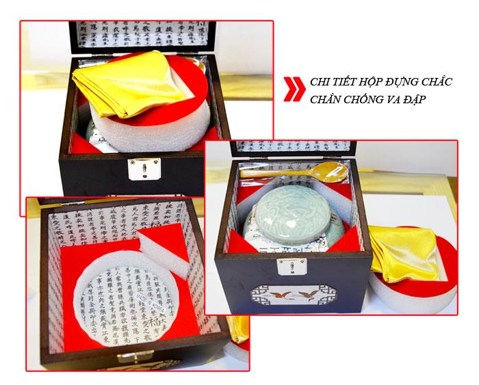 Cao Hoàng Đế 500g/hộp màu xanh ngọc NS037 2