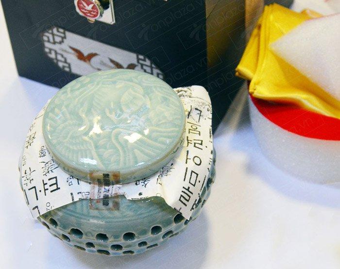 Cao Hoàng Đế 500g/hộp màu xanh ngọc NS037 4
