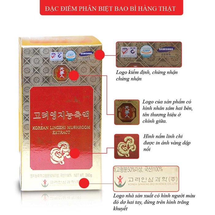 Cao linh chi tự nhiên Hàn Quốc cao cấp L028 2